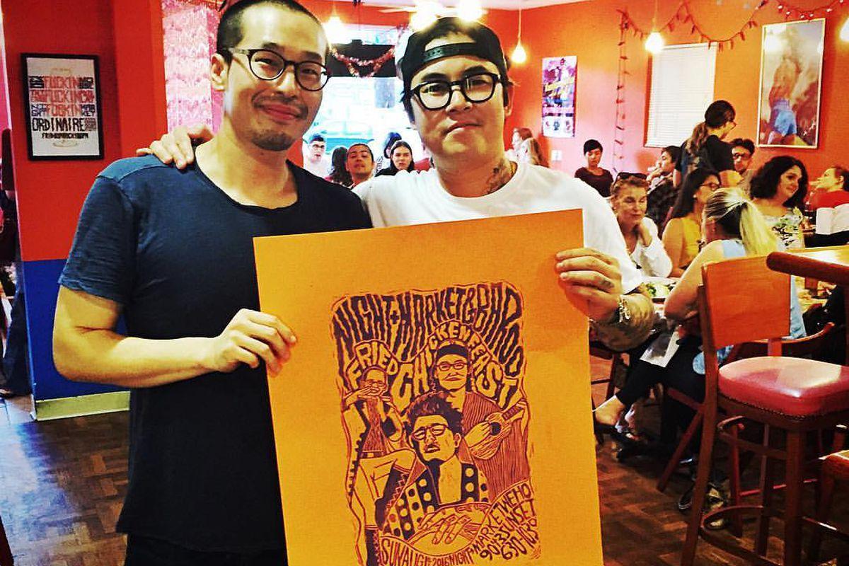 Kwang Uh and Kris Yenbamroong