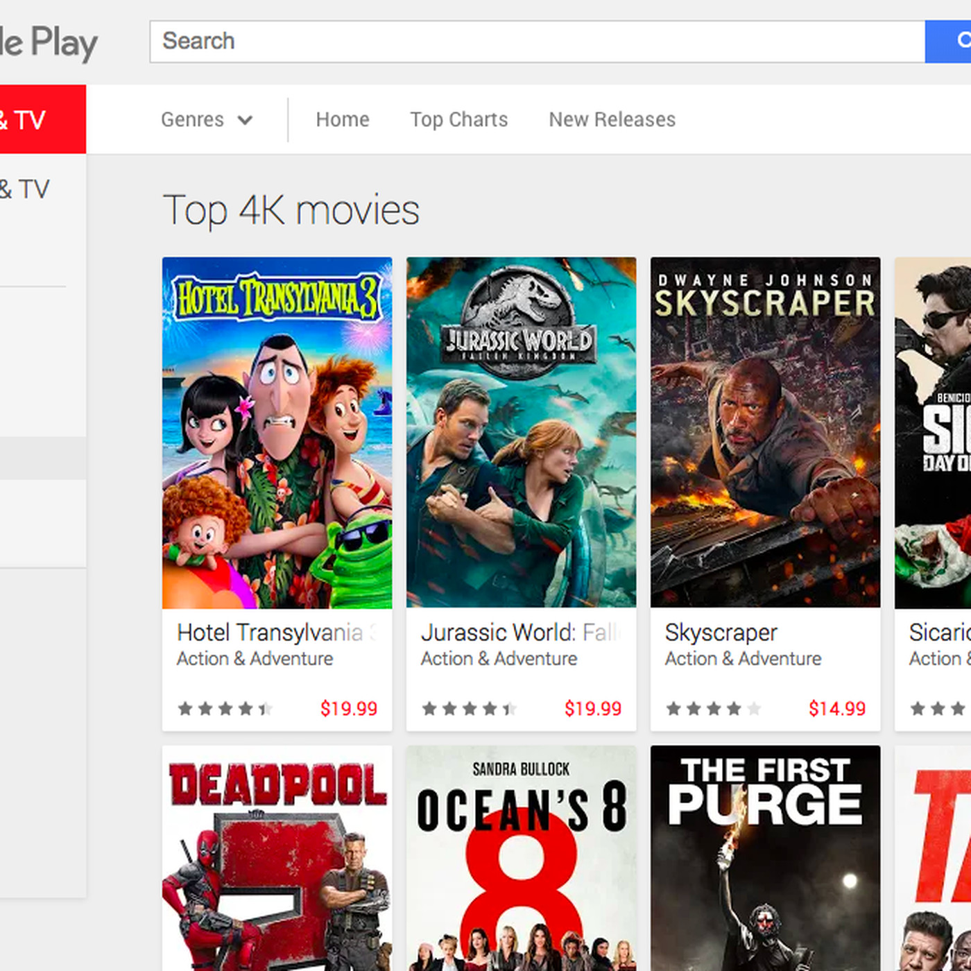 get free movies on google play