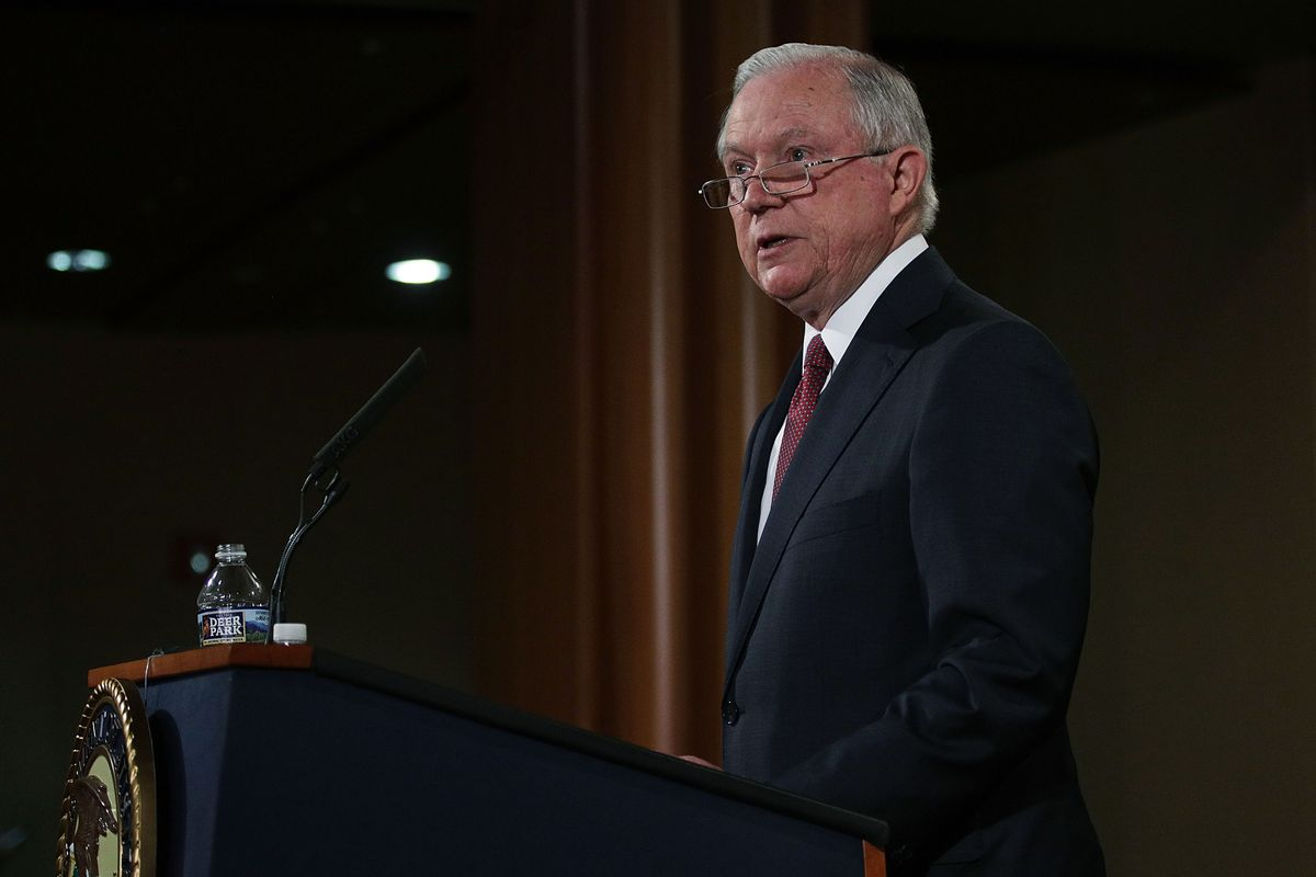 Attorney General Jeff Sessions announces the end of DACA.
