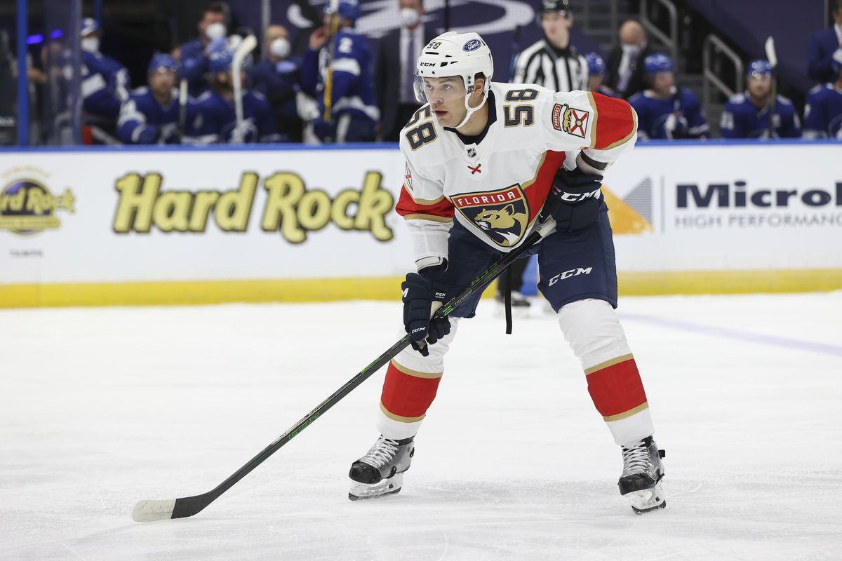NHL: FEB 15 Panthers at Lightning