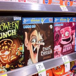 Count Chocula has his time to shine.