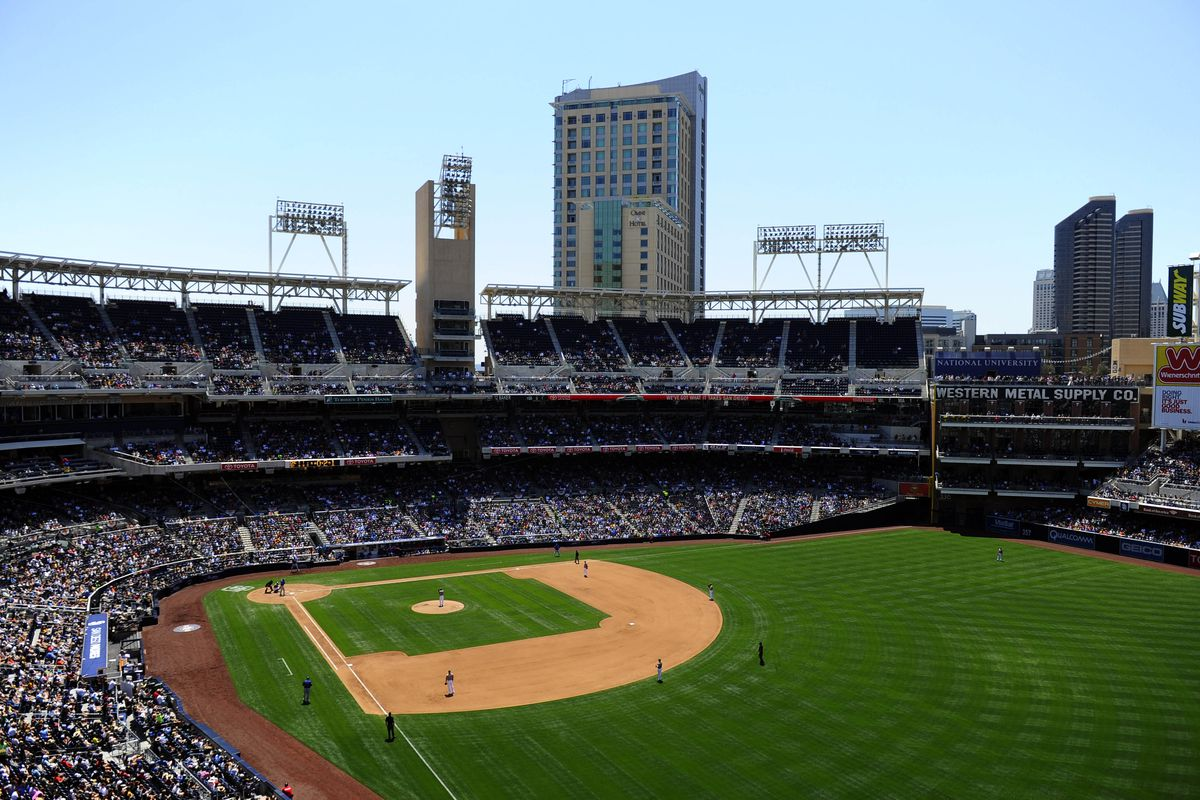 PETCO Park in the daytime. Is it less of a nightmare for hitters when the sun is up?