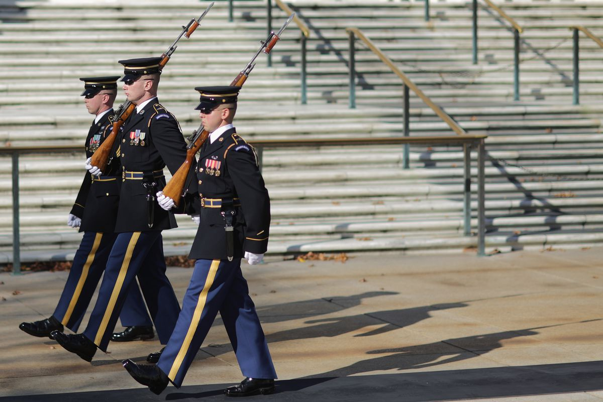 Veterans Day Commemorated At Arlington National Cemetery