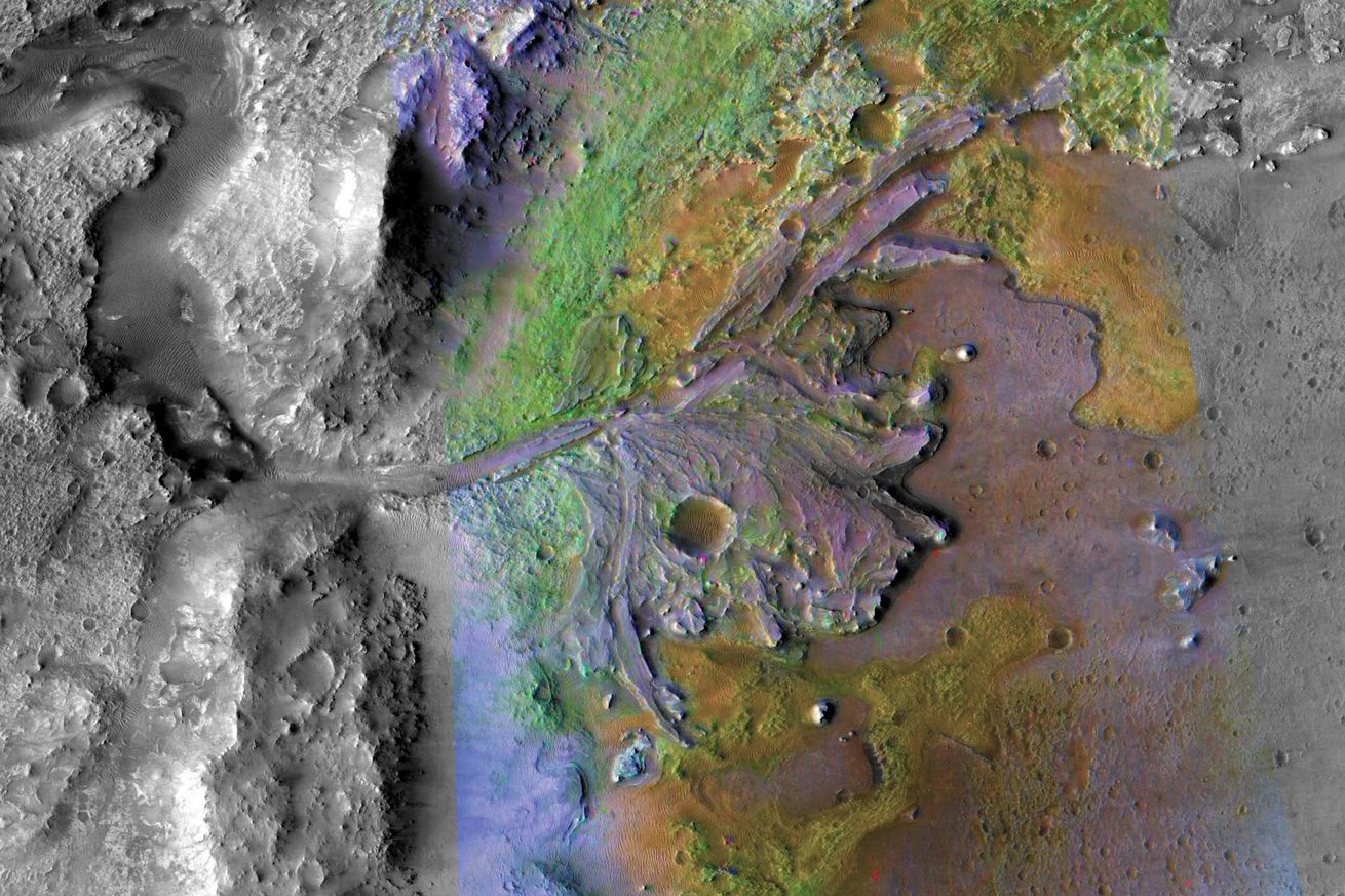 nasa will send its rover to a martian delta to look for signs of ancient life