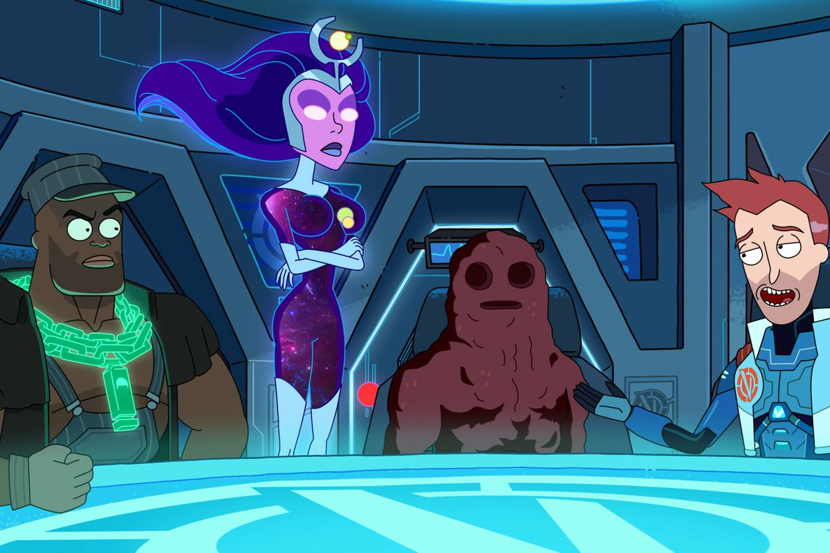 THE VINDICATORS from Rick and Morty