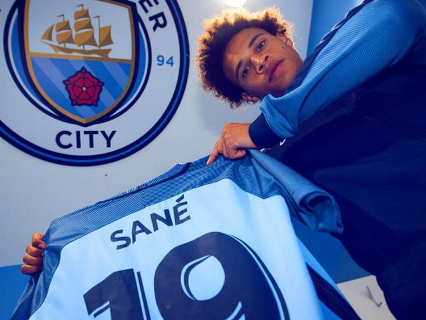 fd5fd3dd9 Manchester City confirm Leroy Sané squad number - Bitter and Blue