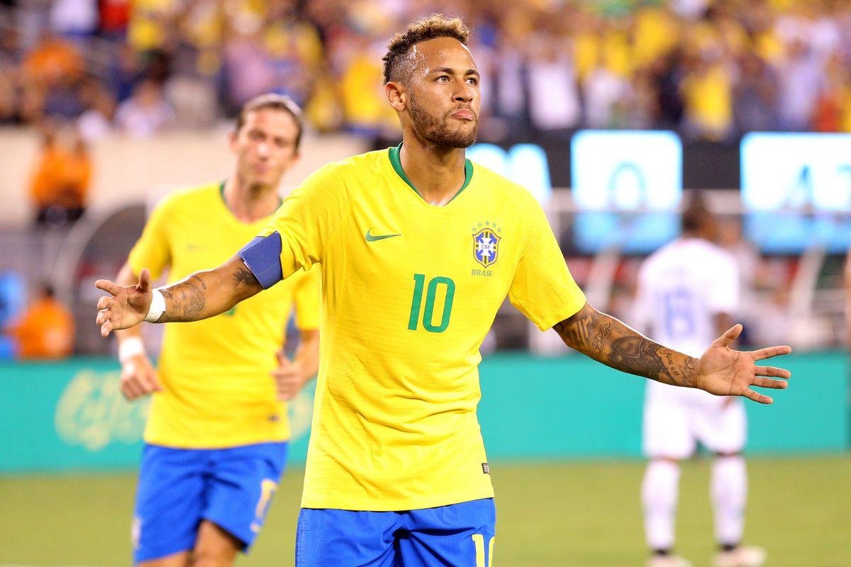 Soccer: International Friendly Soccer-Brazil at USA