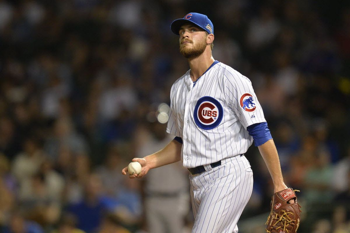 Cubs win arbitration case against reliever Justin Grimm - Chicago