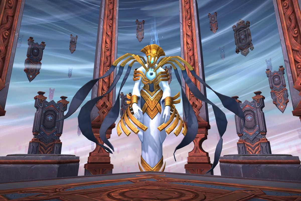 World of Warcraft - the Arbiter in Oribos, currently deactivated