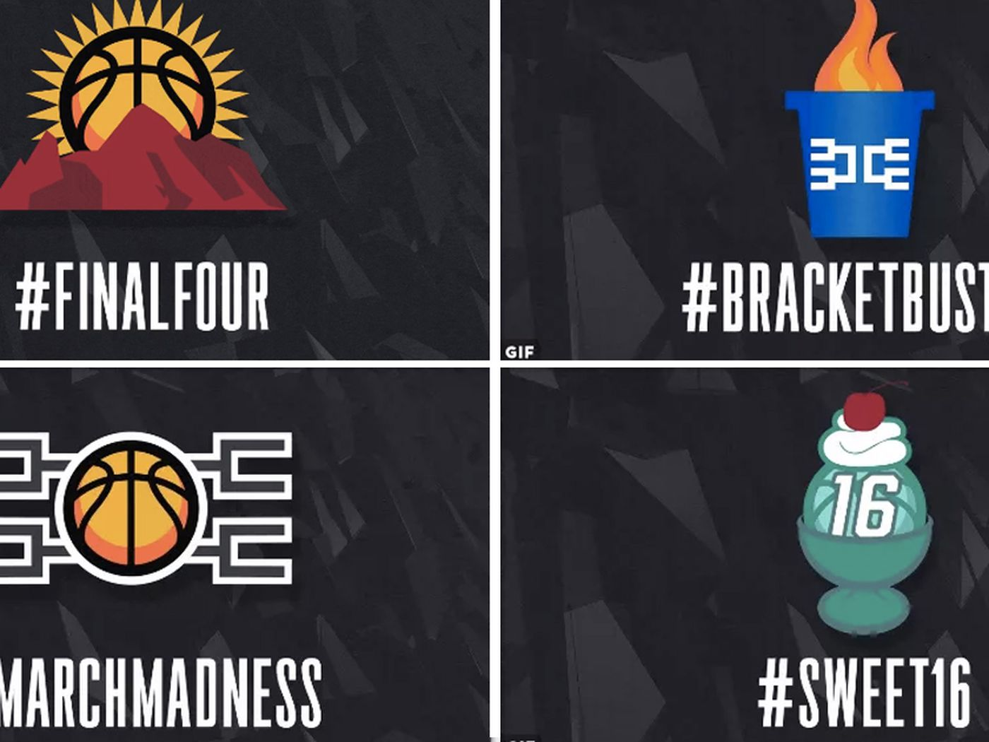 Ranking The 2017 Ncaa Tournaments 8 New Twitter Hashtag Emojis