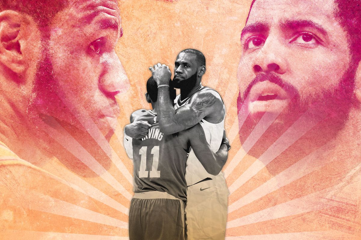 c12c71f1d0f Share Kyrie Irving s Relationship With LeBron Has Come Full Circle. tweet  share Flipboard Email. Getty Images Ringer illustration. ""