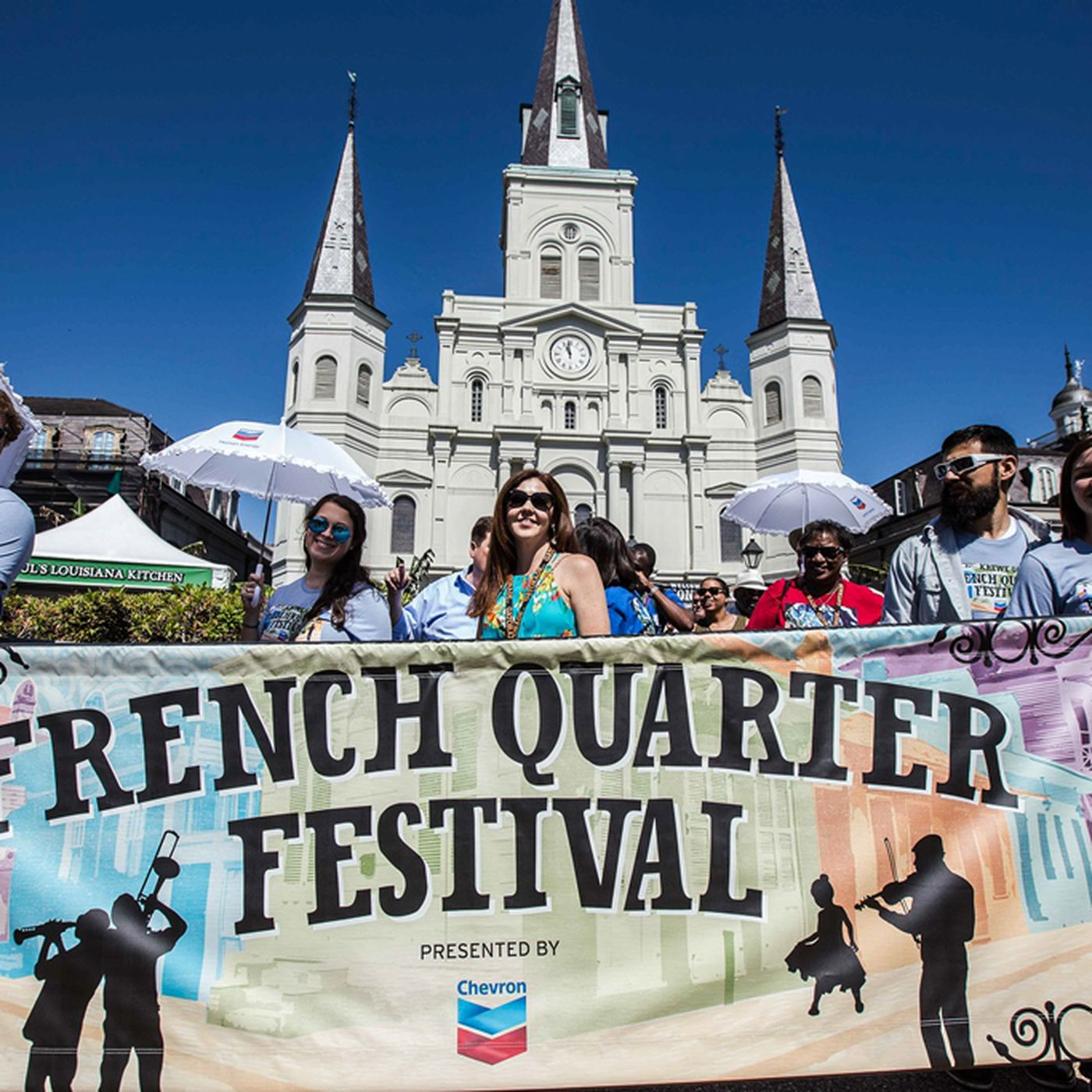 French Quarter Festival street closures and stage locations
