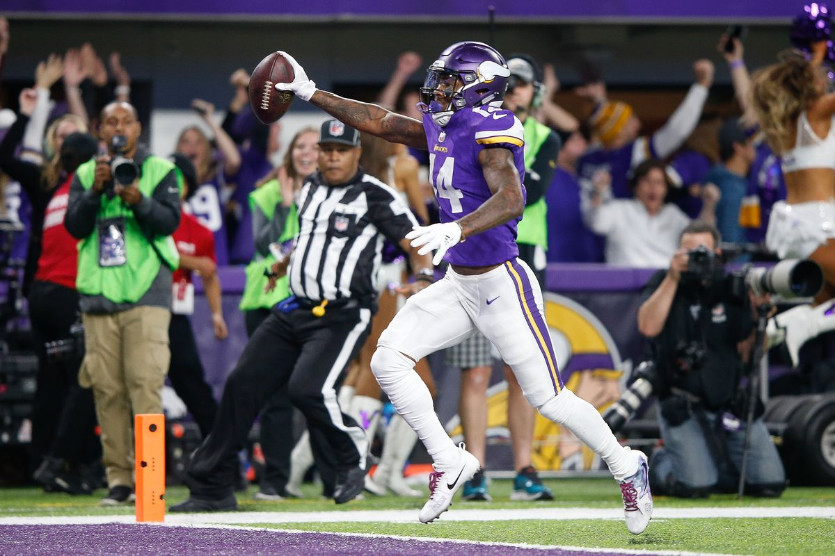 cheap for discount ec95d 67cb0 Madden 20 ratings: Stefon Diggs tops among former Maryland ...