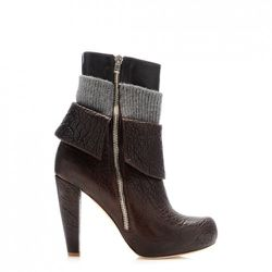 Now: Lucy Zipper Knit Bootie ($895)<br />
