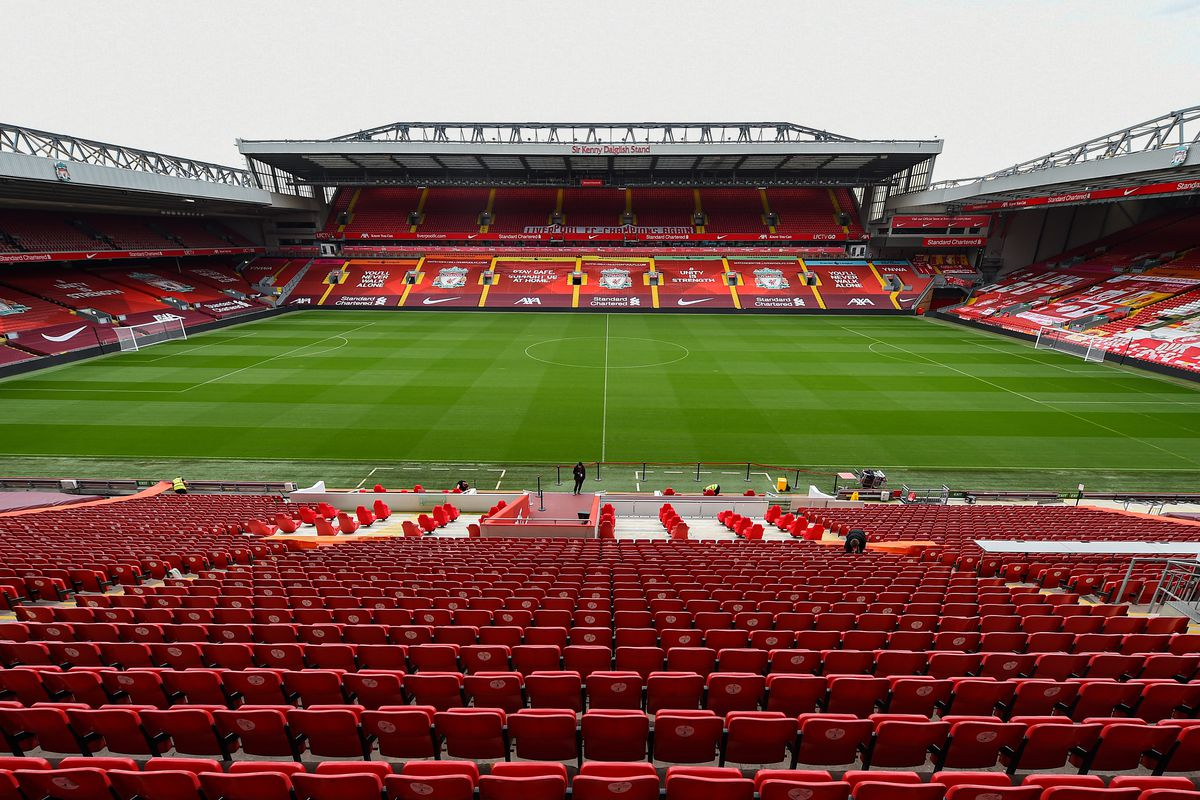 General Views of Anfield Ahead of the New Premier League Season