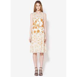 "<b>3.1 Phillip Lim</b> Tank Dress With Floral Motif in Pale Aqua Persimmon, <a href=""""https://www.31philliplim.com/shop/womens/dresses/759/color/125>$1,345</a>"