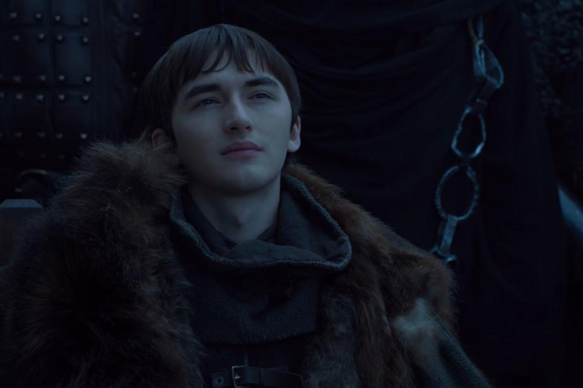 Game of Thrones season 8 episode 1 - Bran Stark staring