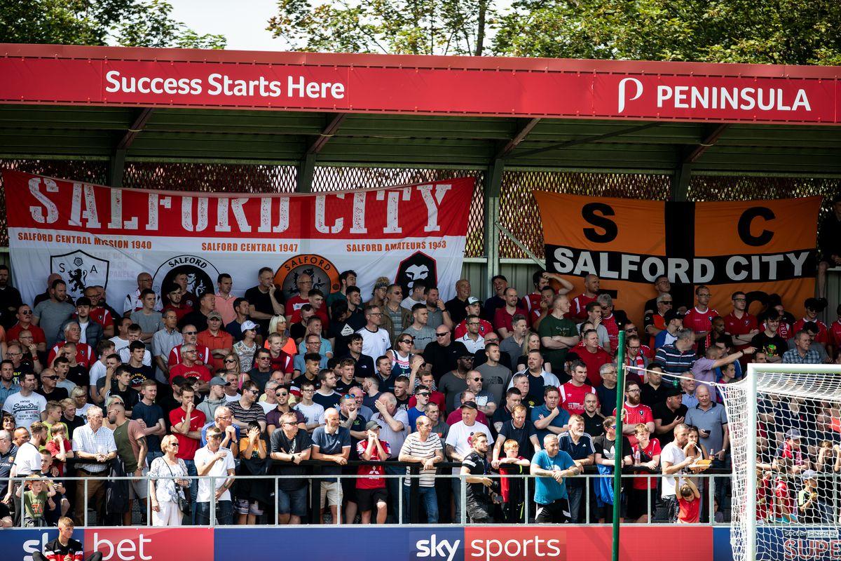 Salford City v Stevenage - Sky Bet League Two