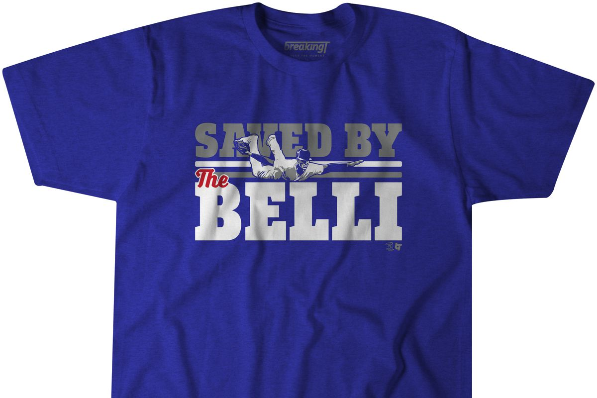 "sale retailer 97458 06038 Cody Bellinger saved the Dodgers ""by the Belli"" with his ..."