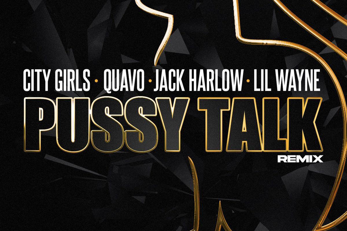 "City Girls' ""Pussy Talk (Remix)"" artwork"