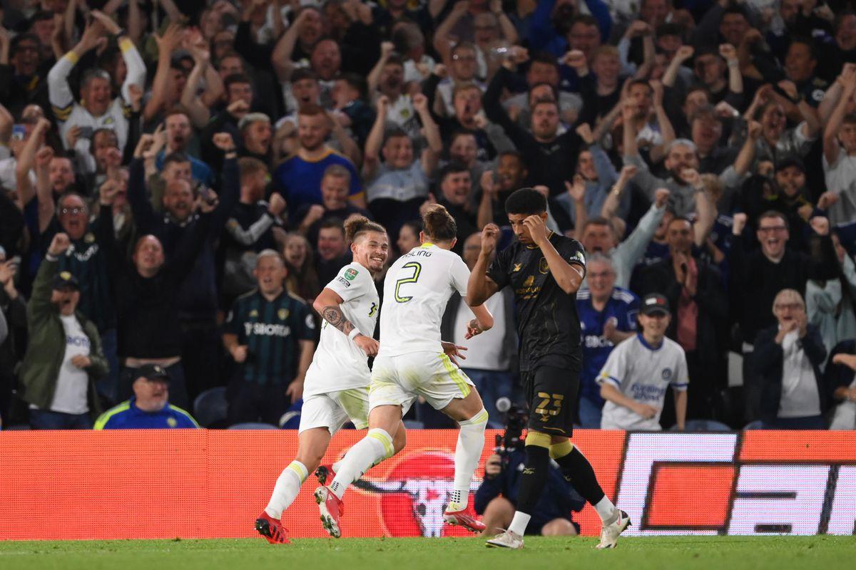Leeds United v Crewe Alexandra - Carabao Cup Second Round