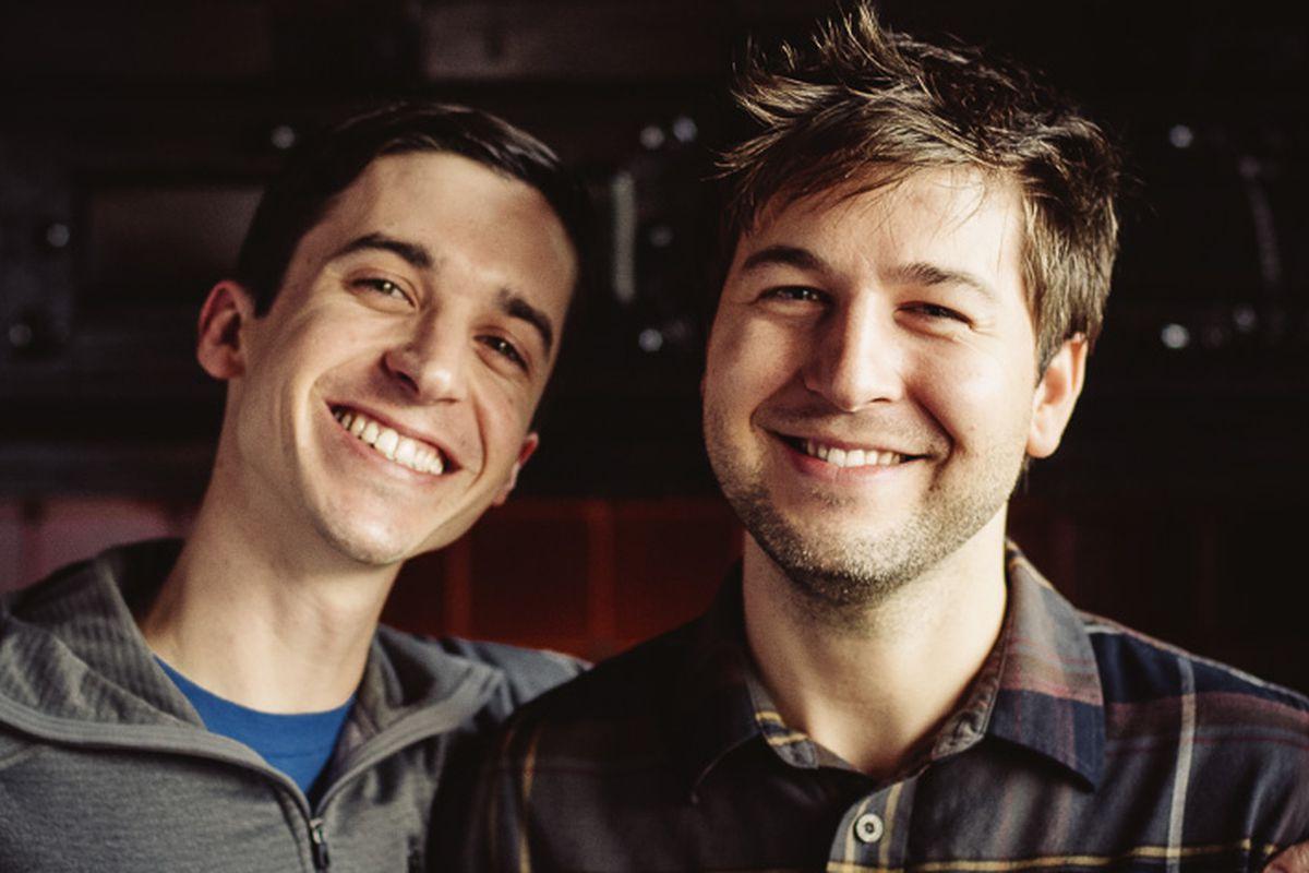 Matt Fundingsland and Dustin Watson