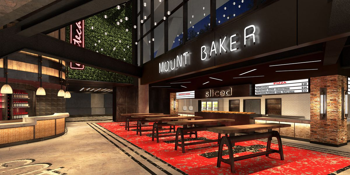 The Mount Baker Food Hall at the New Arena at Seattle Center.