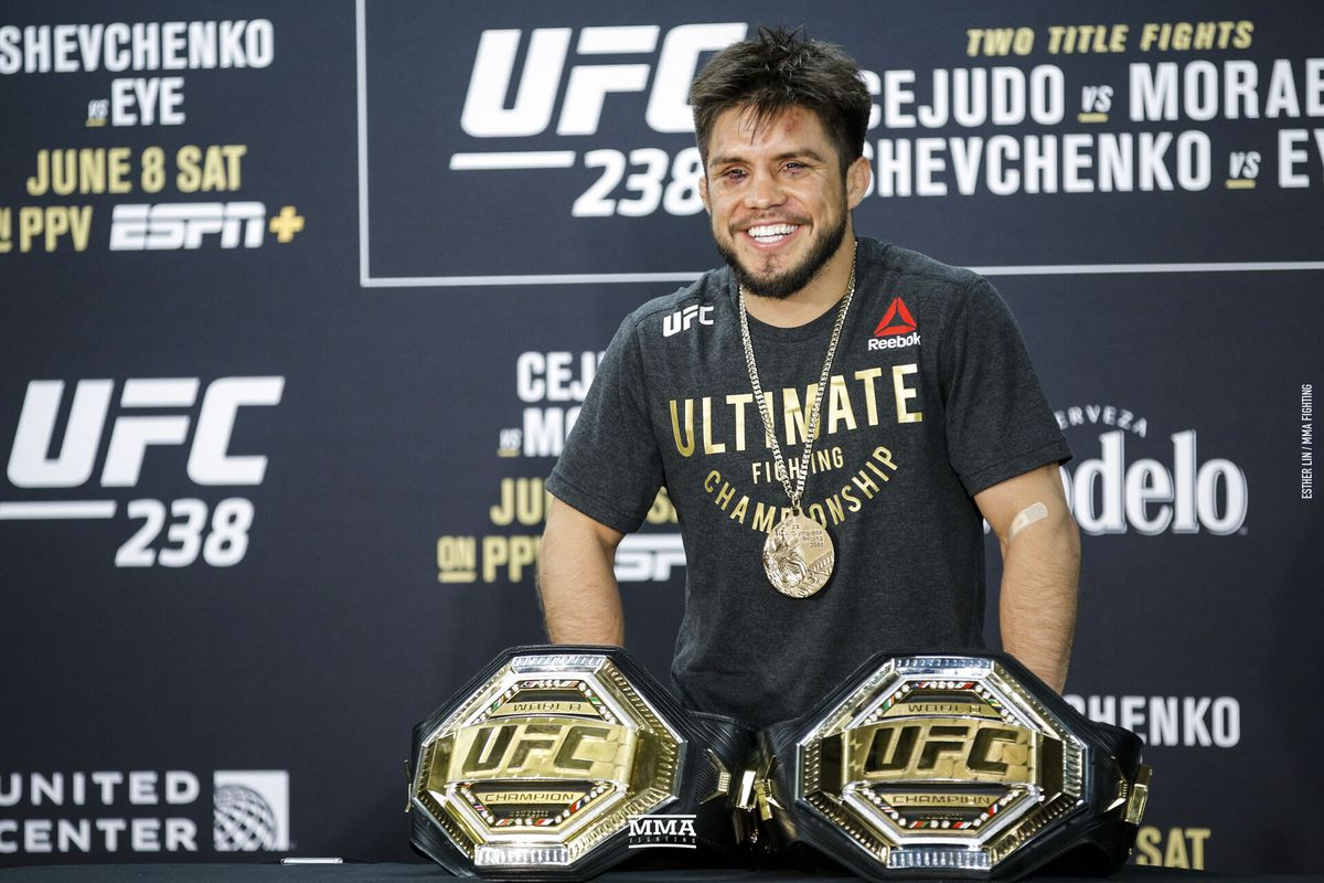 Morning Report: Henry Cejudo undecided on future but admits the bantamweight division is 'more appetizing'