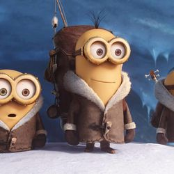 """Bob, Kevin and Stuart star in Universal Pictures and Illumination Entertainment's """"Minions."""""""