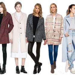 "Clockwise from right: <a href=""http://www.zara.com/us/en/woman/coats/coats/oversize-double-breasted-coat-c499001p1294451.html"">Zara oversized double-breasted coat</a>, <a href=""http://www.zara.com/us/en/woman/coats/coats/masculine-studio-overcoat-c499001p"