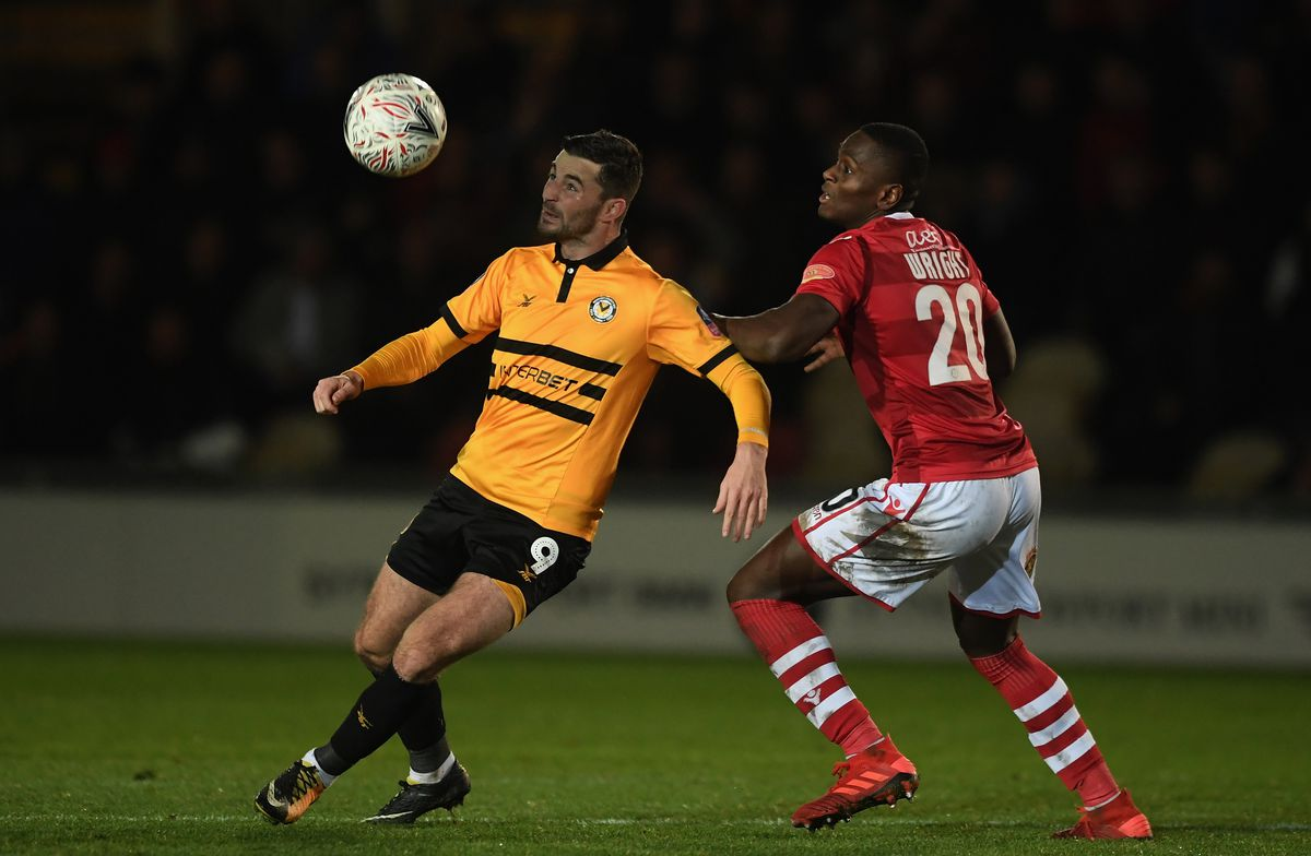 Newport County v Wrexham - The Emirates FA Cup Second Round Replay
