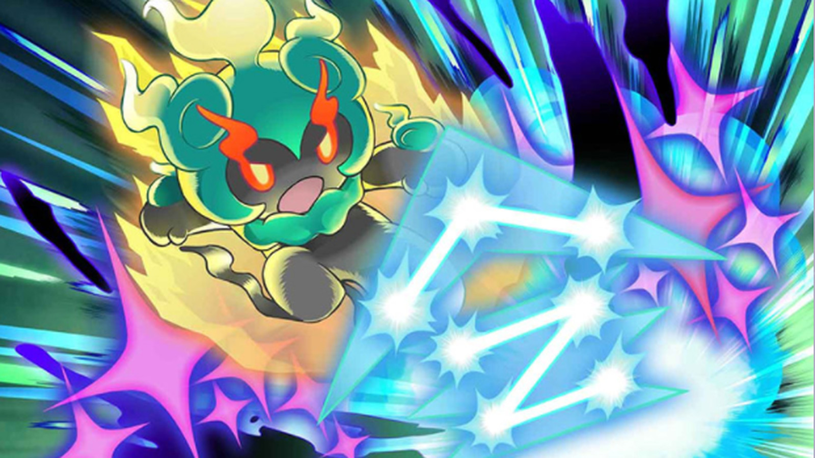 Pok mon s newest legendary is an adorable fighting ghost - Legendaire shiney ...
