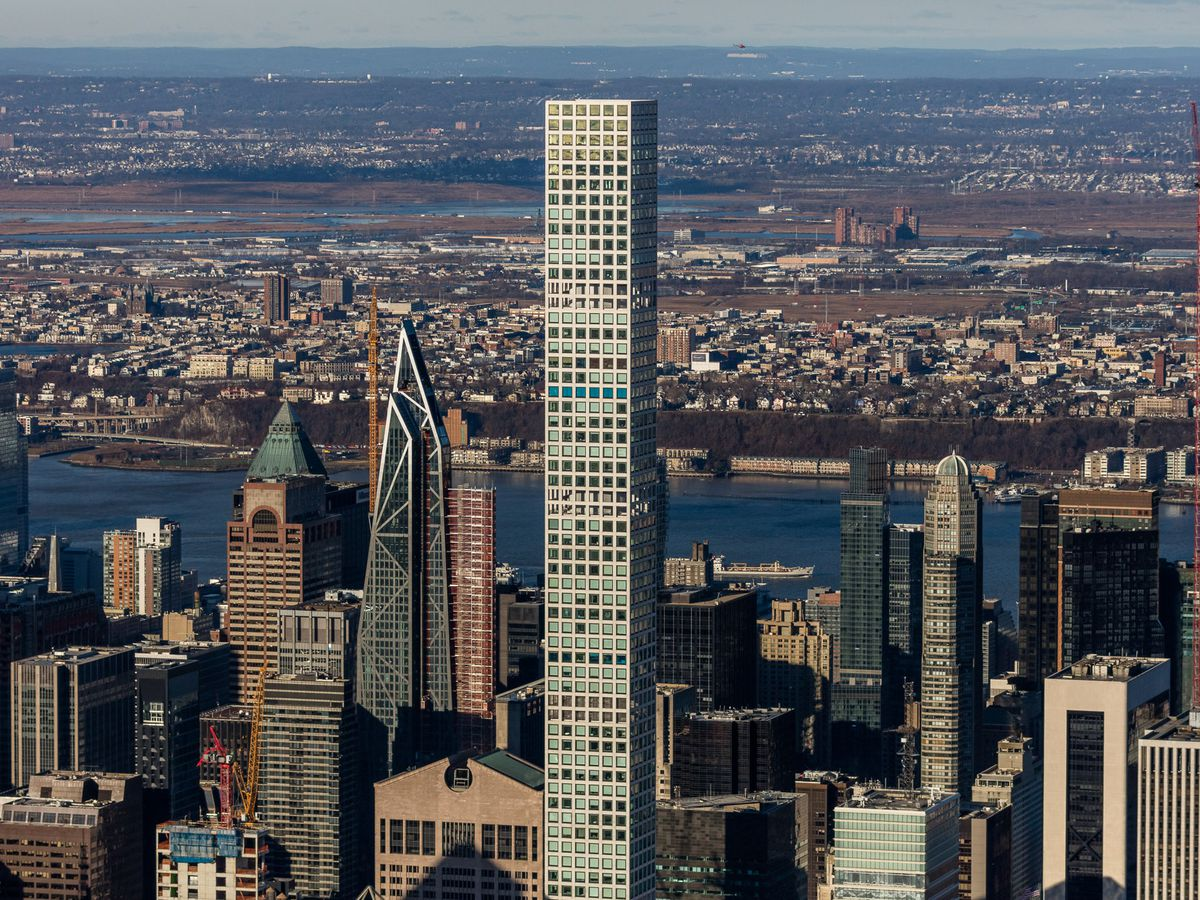 NYC's supertall skyscraper boom, mapped - Curbed NY