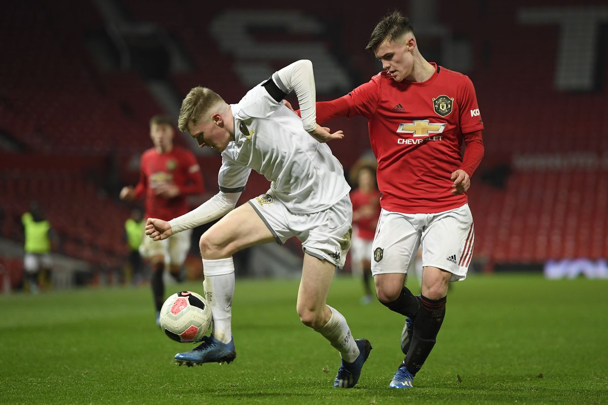 Manchester United v Leeds United - FA Youth Cup: Fifth Round