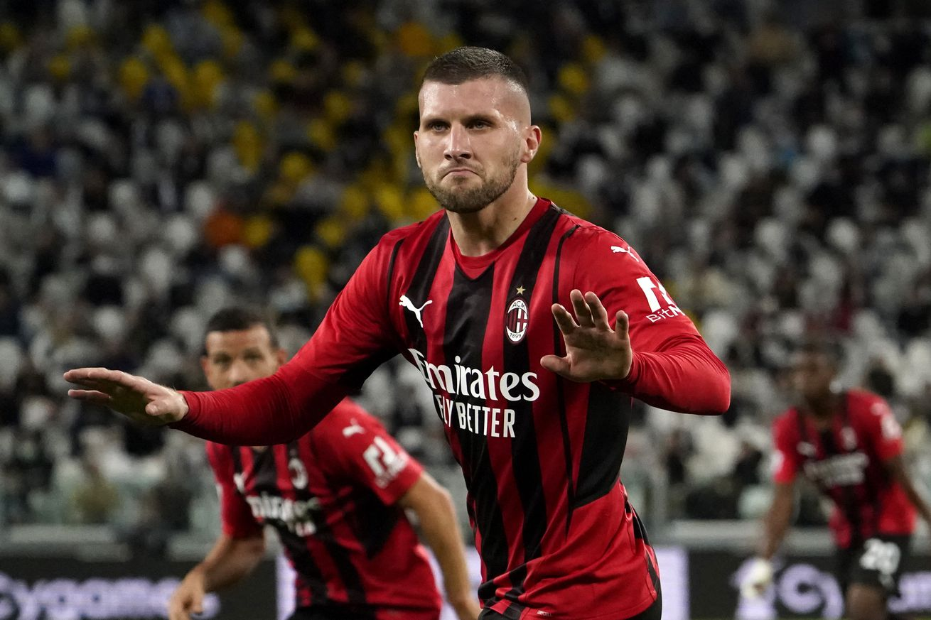 AC Milan Draw 1-1 With Juventus On The Road As Rebic Rises To The Occasion