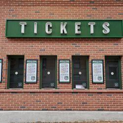 Ticket windows on Waveland