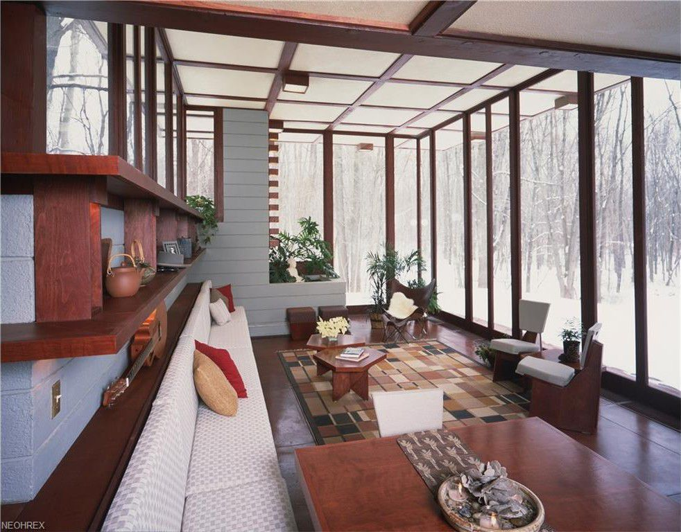 Frank Lloyd Wright S Penfield House Is Back On The Market