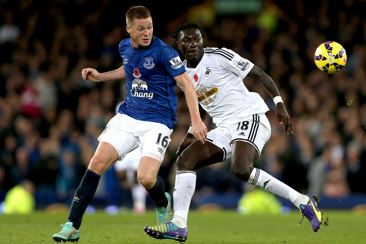 Everton's success on Saturday may hinge on the health of James McCarthy.