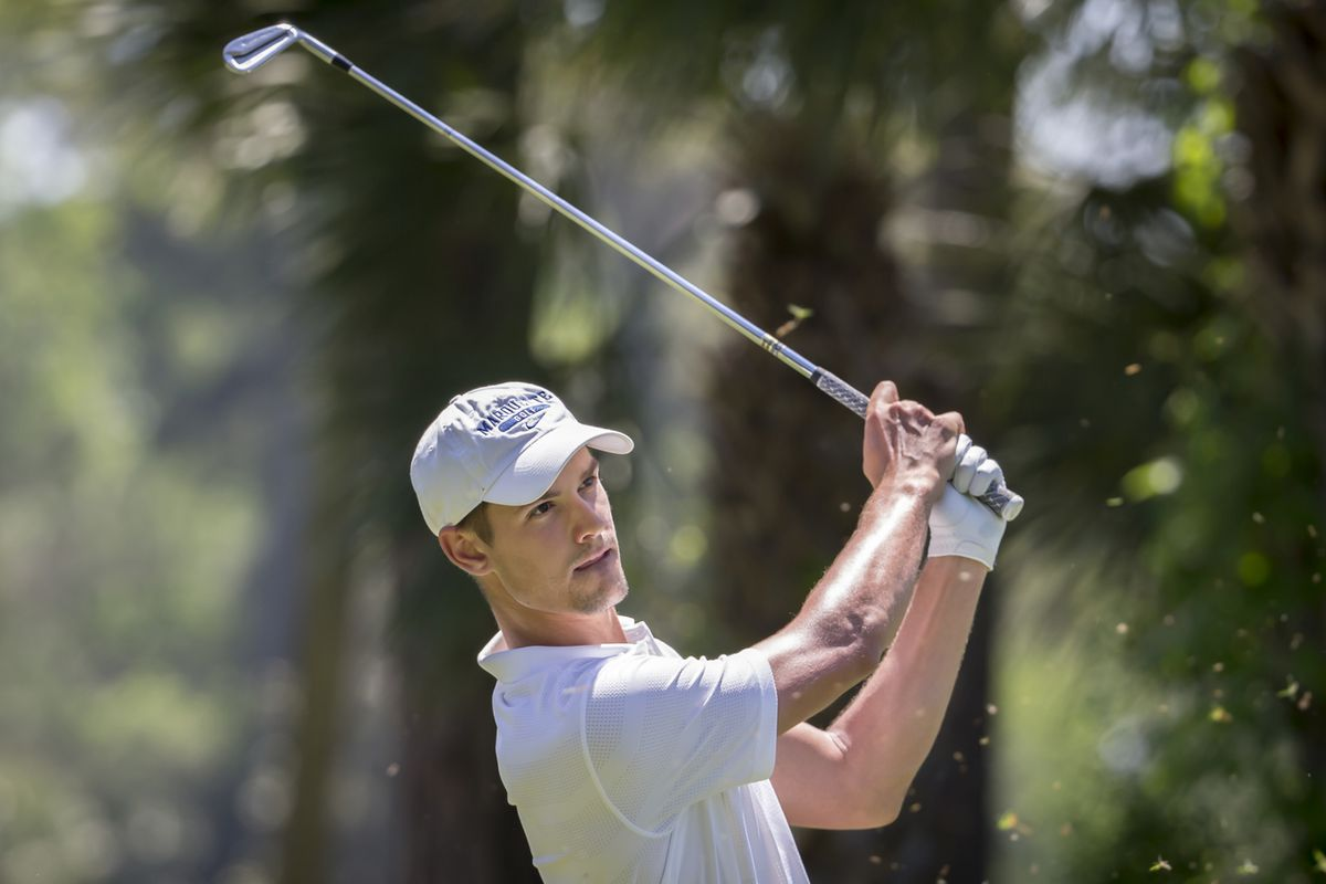 Brandon Cloete (pictured) tied with Pat Sanchez for MU's low score in the NCAA regional.