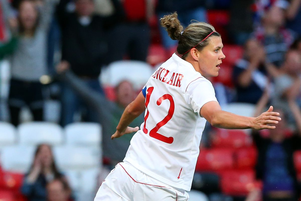 Christine Sinclair played the game of her life last time these two teams met in Manchester.