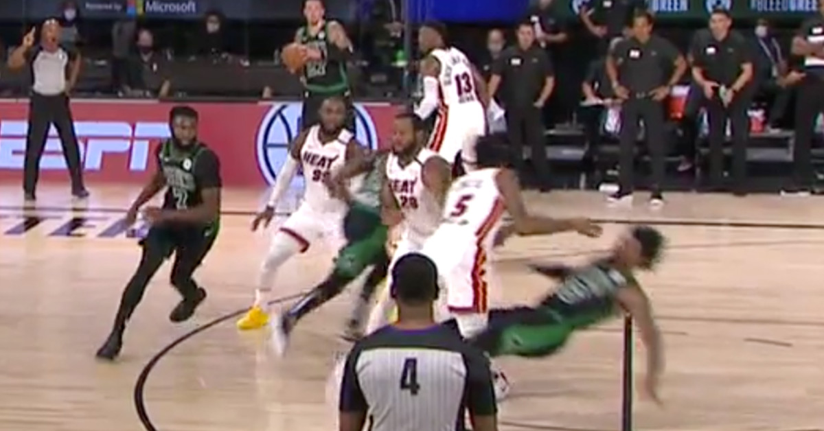 Marcus Provocative's recreation-tying flop became genius in Warmth-Celtics Game 1 thumbnail