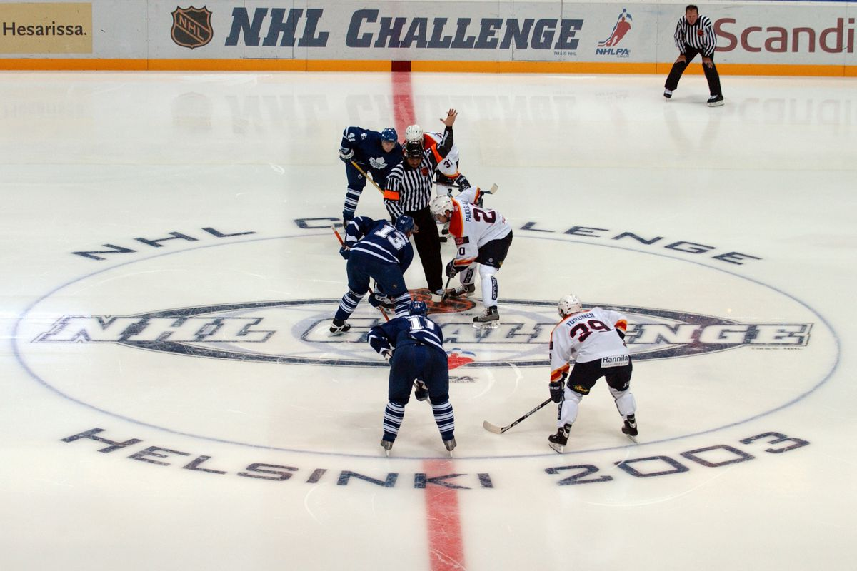 Leafs faceoff against Jokerit