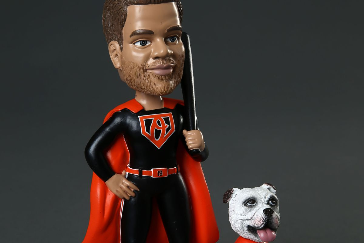Crush Davis and Samson bobblehead giveaway for August 20