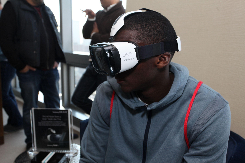 Victor Oladipo using NBA VR