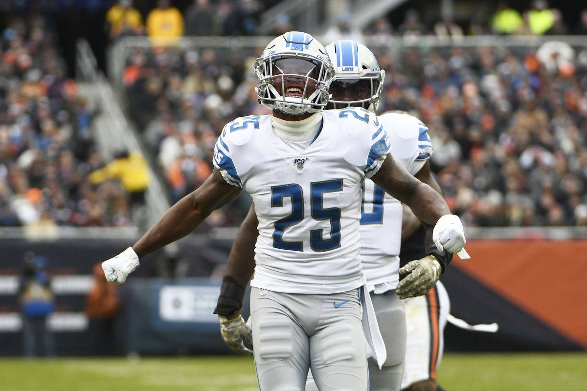 Detroit Lions Week 10 snap counts: Will Harris plays every snap for 2nd straight week