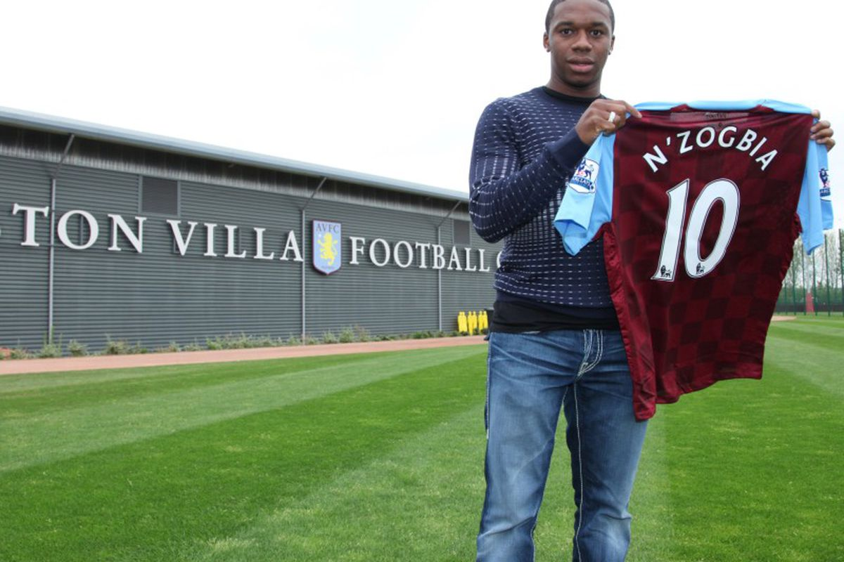 He's here! (Image by Aston Villa Official Site)
