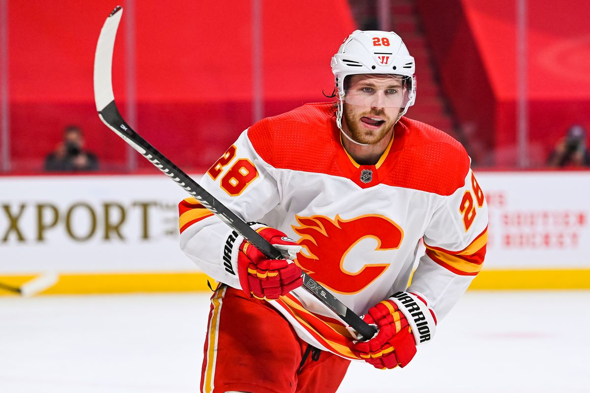 NHL: APR 14 Flames at Canadiens