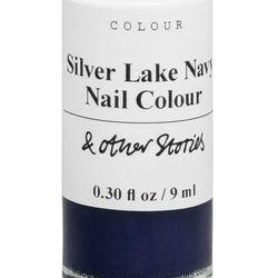 Silver Lake navy nail polish, $11
