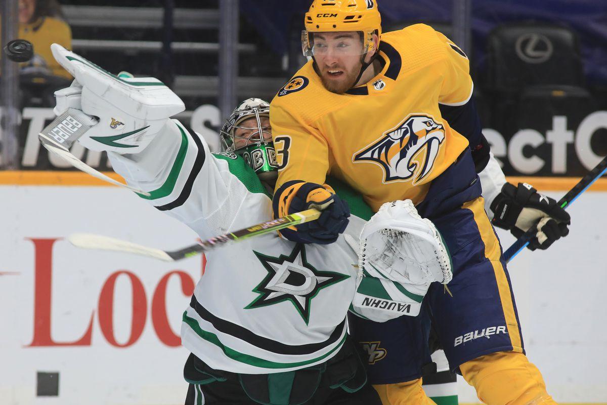 NHL: MAR 30 Stars at Predators