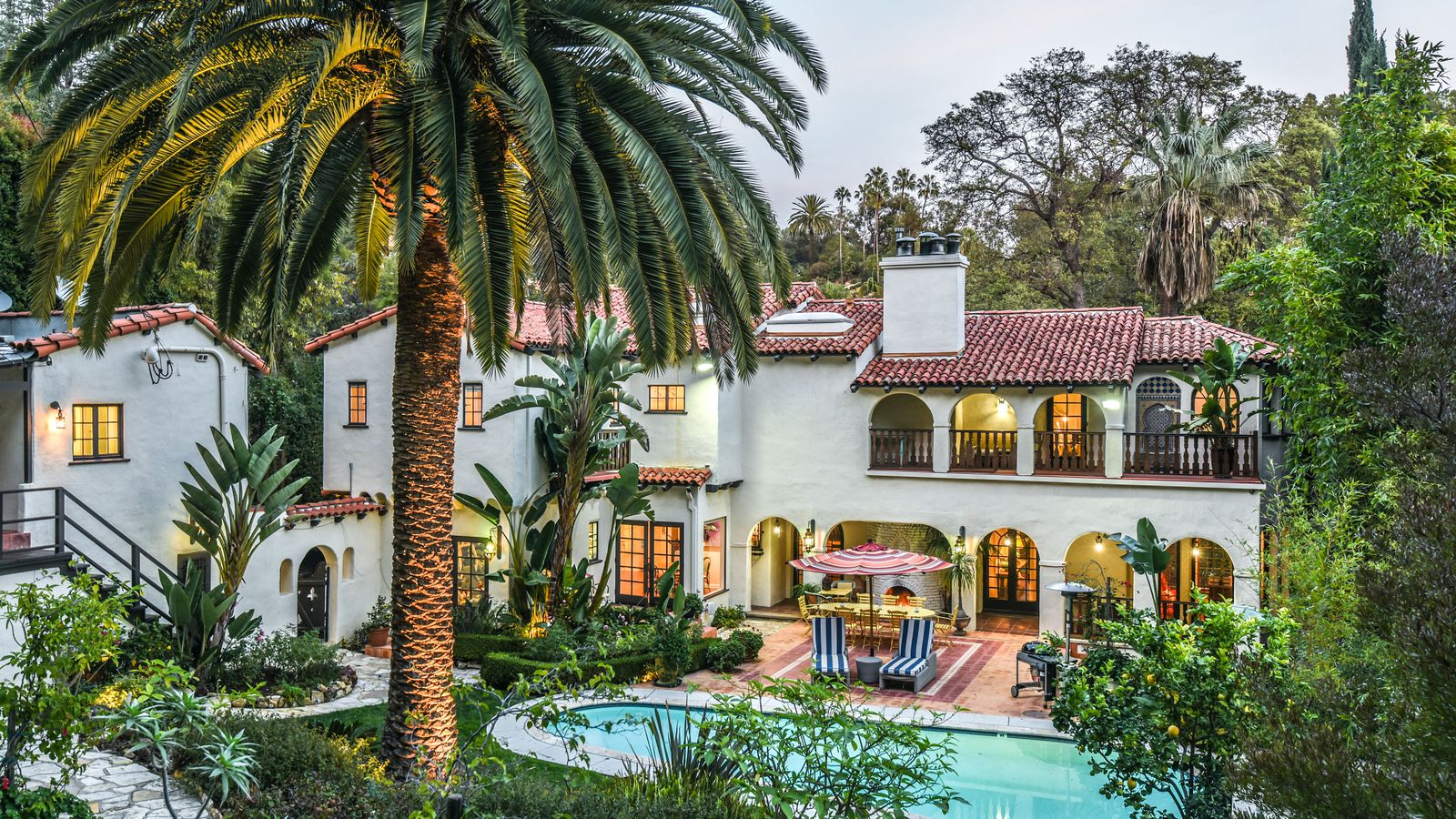 American Rag Founder Lists 1928 Spanish Style House In Los